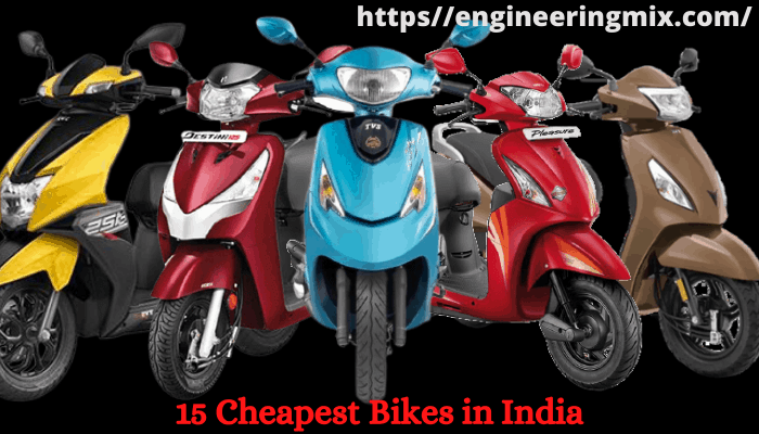 10 Cheapest Scooty in India with Ex-Showroom Price
