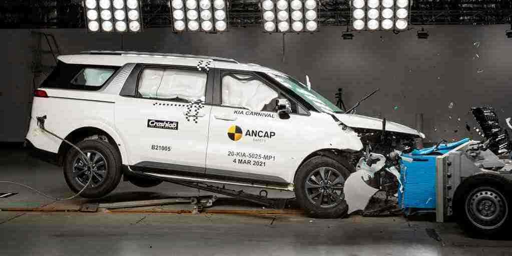 In 2021 Kia Carnival, received a 5-star rating from the Australia NCAP chapter