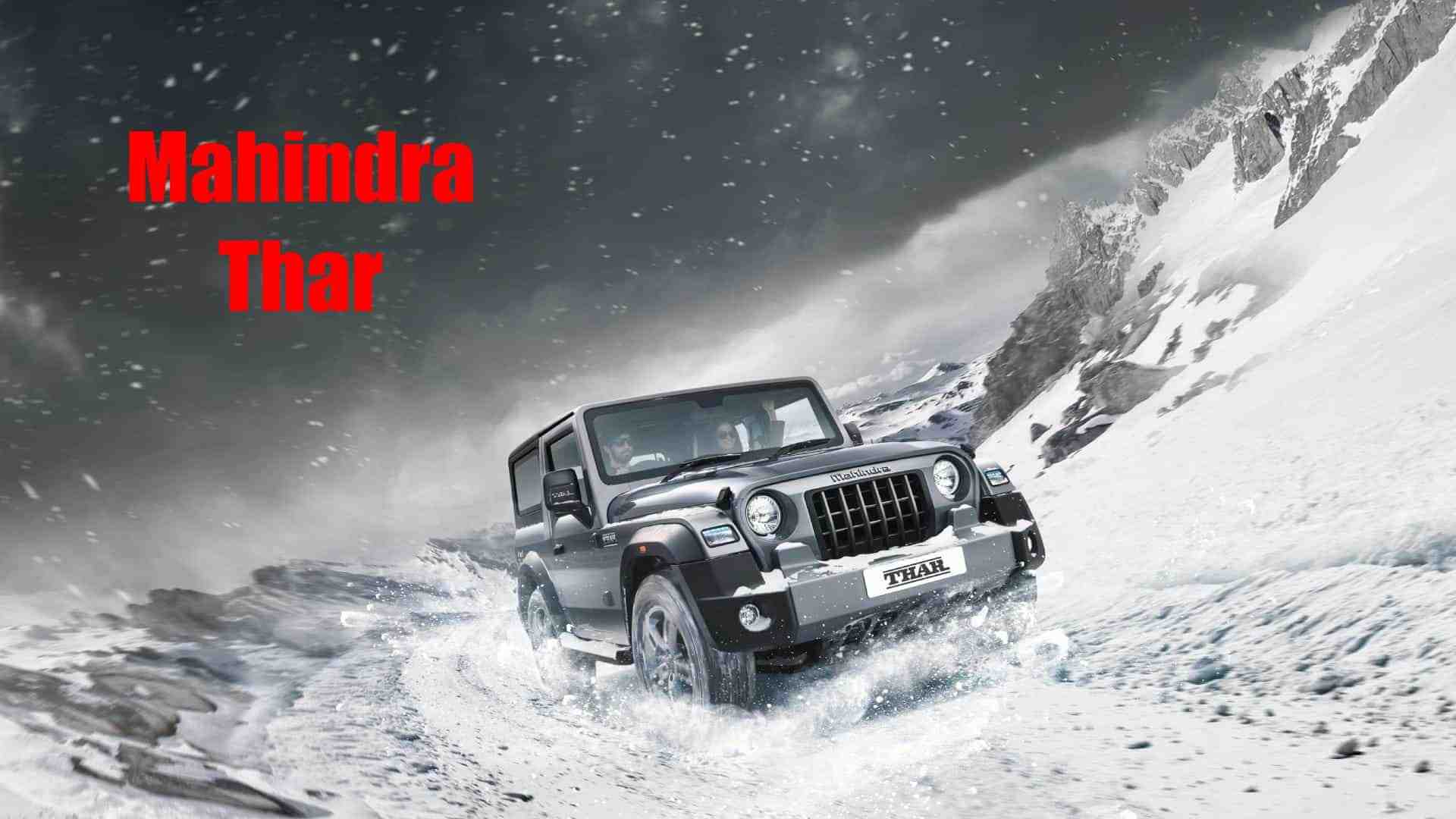 2021 Mahindra Thar audit, detailed review