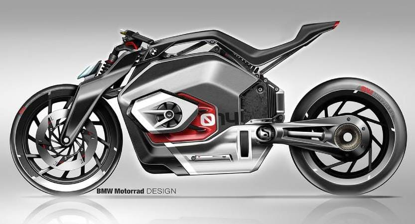 BMW patent notes that the future electric motorbike is expected to fit the production leading
