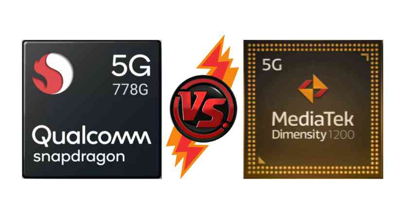 Which is the better processor? Qualcomm snapdragon 778g vs Dimensity 1200