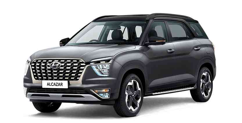 Modern Hyundai Alcazar variants, specifications, features, and priced at Rs 16.30 lakh